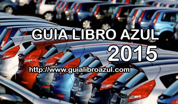 libro azul de coches: